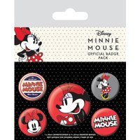 Minnie Mouse Badge Pack