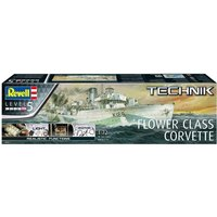Flower Class Corvette Military Ship Revell 1:72 Scale Technik Model Kit