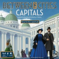 Between Two Cities: Capitals Expansion Board Game