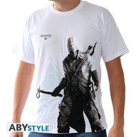 Assassin's Creed - Connor Stand Up Men's XX-Large T-Shirt - White