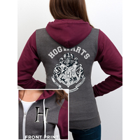Harry Potter - Hogwarts Varsity Women's Hooded Sweatshirt - Grey