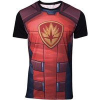 Guardians of the Galaxy - Rocket Raccoon Sublimation Men's Small T-Shirt - Red