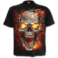 SkullBlast Men's Large T-Shirt - Black