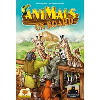 Animals on Board Card Game