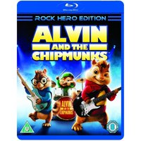 Alvin and the Chipmunks Munk Rock Edition Blu-ray