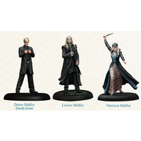 Harry Potter Miniatures Adventure Game Malfoy Family Expansion Board Game