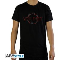 Dark Souls - You Died Men's Small T-Shirt - Black