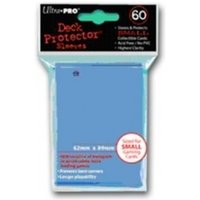Ultra Pro Small Light Blue 60 Deck Protectors - 10 Packs