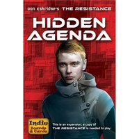 The Resistance Hidden Agenda Expansion Board Game