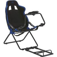 X Rocker Circuit Foldable Racing Seat (Black / Blue)