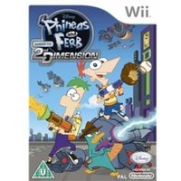 Phineas and Ferb Across the 2nd Dimension Game