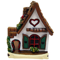 White Fairy House With Heart