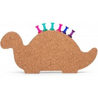 Thumbs Up Dinosaur Cork Board Magnet