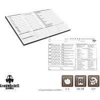 Folklore Character Record Pad Board Game