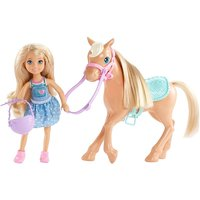 Image of Barbie Club Chelsea Doll & Horse