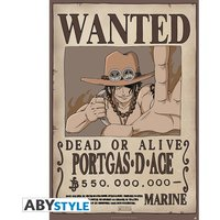 One Piece - Wanted Ace Maxi Poster