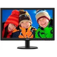 Philips 243V5LHAB/00 24 Inch LCD Monitor with SmartControl Lite (Black)