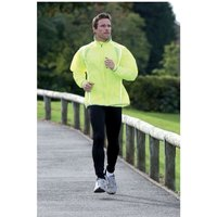PT Running Rain Jacket Fluo Yellow/Silver 30-32 inch
