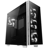 Anidees AI-Crystal Midi-Tower Tempered Glass White