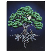 Small Tree Of Life Canvas Picture by Lisa Parker