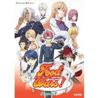 Food Wars! Complete Season 1 (Episodes 1-24) DVD