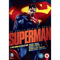 Superman The Animated Movie Collection DVD