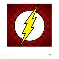 DC Comics - The Flash Symbol Art Print