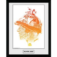 Full Metal Jacket A Day Without Blood Framed Collector Print