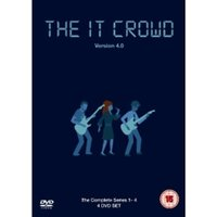 The IT Crowd Series 1-4 DVD