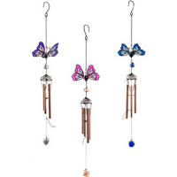 Butterfly Windchime Pack Of 6