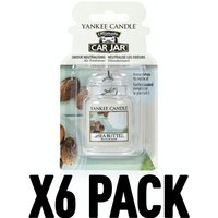 Shea Butter (Pack Of 6) Yankee Candle Ultimate Car Jar Air Freshener