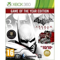 Batman Arkham City Game of the Year Edition GOTY Game