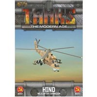 TANKS: The Modern Age Sov Mi-24 Hind (Helo) Board Game