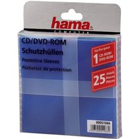 Hama CD/DVD Protective Sleeves (25 - coloured)