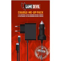 GameDevil Charge Me Up Pack Nintendo Switch (EU 2 PIN PLUG)