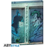 Dc Comics - Batman Vs Joker Canvas