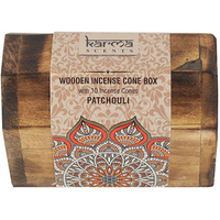 Karma Patchouli Incense Cone Wooden