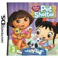 Dora and Friends Pet Shelter Game