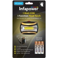 Infapower F045 1 Watt COB Head Torch