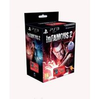 inFamous 2 Game Evil Pack with Transparent Red Dualshock 3 Controller