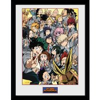 My Hero Academia School Group Framed Collector Print