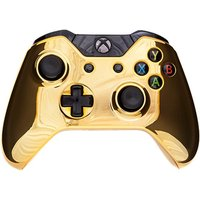 Chrome Gold Edition Xbox One Controller