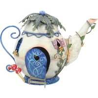 Tubby Teapot Fairy Ornament