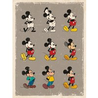 Mickey Mouse - Evolution Canvas