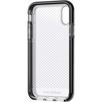 Tech21 Evo Check mobile phone case for Apple iPhone X/XS 14.7 cm (5.8inch) Cover Black,Transparent