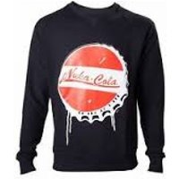 Fallout 4 Men's Nuka Cola Bottle Cap X-Large Sweater
