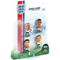 SoccerStarz England 4 Player Blister Pack B Figures