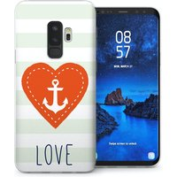 CASEFLEX SAMSUNG GALAXY S9 PLUS LOVE HEART CASE / COVER (3D)