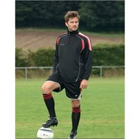 Precision Ultimate Training Top Black/Red/Silver 38-40 inch