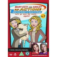 Mary Kate And Ashley In Action - Vol. 1 DVD
